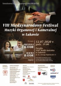 Inauguracja VIII Międzynarodowego Festiwalu Muzyki Organowej i Kameralnej w Łukowie @ Parafia NMP Matki Kościoła | Łuków | Lubelskie | Polska