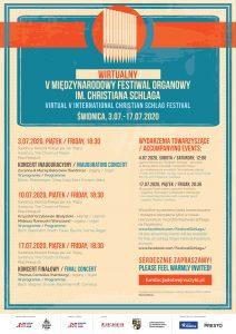 Inauguracja V Międzynarodowego Festiwalu Organowego im. Christiana Schlaga @ Kościół Pokoju w Świdnicy | Świdnica | Dolnośląskie | Polska